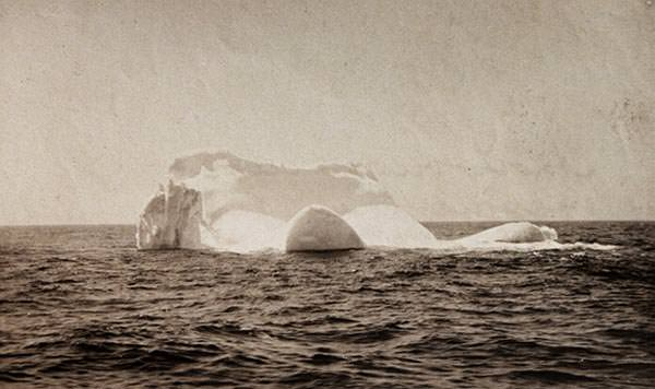 The iceberg that hit Titanic