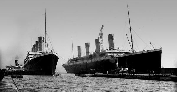 Image of the Titanic sister ship Olympic.
